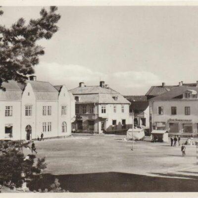 Torget. Lycksele Förlag: Bodéns Bokhandel, Lycksele Ocirkulerat Ägare: Åke Runnman 9x14