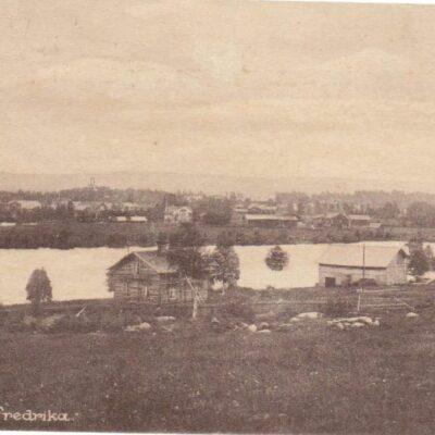 Motiv från Fredrika Foto: Norberg & Markström Plundrat, skrivet 16/7 1927 Ägare: Åke Runnman