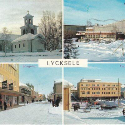 Lycksele, Lappland, Sweden Copyright: Herman Grönlund, Skansholm Poststämplat 4/1 1972 Ägare: Åke Runnman 10x15