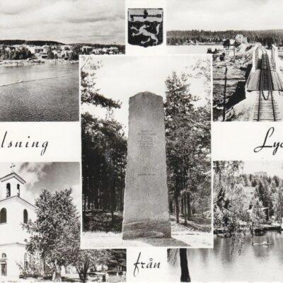 Hälsning från Lycksele Ocirkulerat Ägare: Åke Runnman 10x15