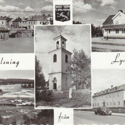 Hälsning från Lycksele Pressbyrån Ocirkulerat Ägare: Åke Runnman 10x15