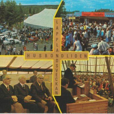 Lapplandsveckan Husbondliden Copyright: Grönlunds Foto, Skansholm Ocirkulerat Ägare: Åke Runnman 10x15