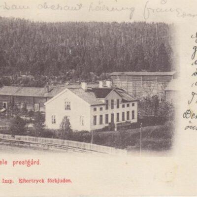 Lycksele prestgård A. & C. Imp. Eftertryck förbjudesPlundratÄgare: Åke Runnman9x14