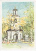 Gratulationskort från Lycksele församling
