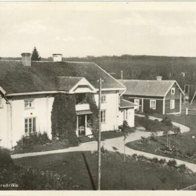 Prästgården Fredrika Poststämplat 31/12 1932 Ägare: Åke Runnman