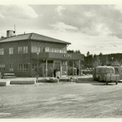 LYCKSELE. Busstationen Pressbyrån Ocirkulerat Ägare: Åke Runnman 9x14