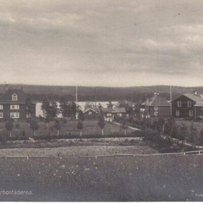 Lycksele. Jägmästarbostäderna Poststämplat 23/12 1930 Ägare: Åke Runnman 9x14