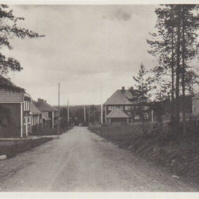 Nybruket, Lycksele Förlag: Gust. S. Bodéns Bokhandel, Lycksele Ocirkulerat Ägare: Åke Runnman 9x14