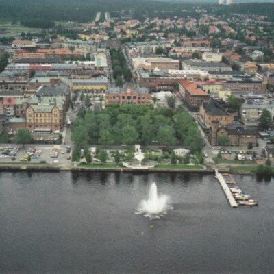 Umeå 1991 Umeå stadsbyggnadskontor Poststämplat 2/3 1992 Ägare: Åke Runnman 12x17