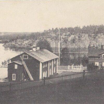 Lycksele Förlag: Gust. S. Bodéns Bokhandel, Lycksele Poststämplat 17/8 1920 Ägare: Åke Runnman 9x14