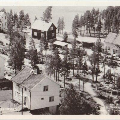 FURUVIK. LYCKSELE Foto: AB Stockholms Aero Poststämplat 11/7 1960 Ägare: Åke Runnman 9x14
