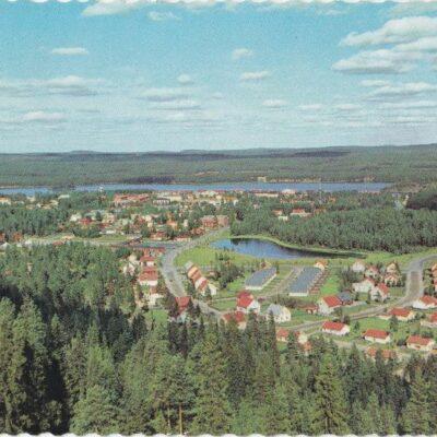 Lycksele Färgfoto: Giovanni Trimboli Poststämplat 30/10 1971 Invigning av Gävle flygplats Ägare: Åke Runnman 10x15