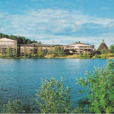 LYCKSELE Hotell Lappland Förlag: K. Rune Lundström AB, Skellefteå Foto: Dino Sassi Poststämpel oläslig Ägare: Åke Runnman 10x15