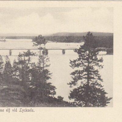 Bron öfver Ume elf vid Lycksele Ocirkulerat Ägare: Åke Runnman 9x14