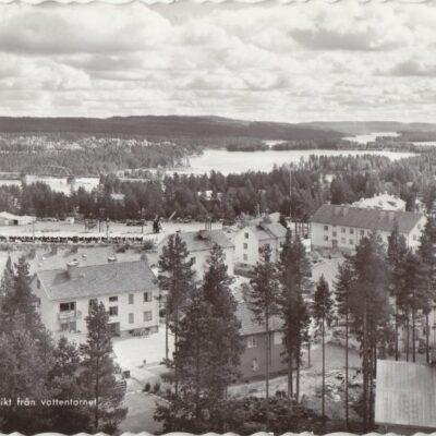 LYCKSELE. Utsikt från vattentornet Pressbyrån Poststämpel oläslig Ägare: Åke Runnman 10x15