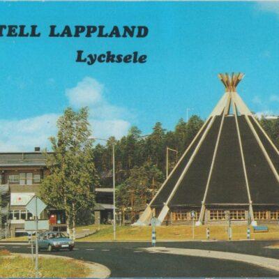 Hotell Lappland, Lycksele Copyright: Grönlunds Foto, Skansholm, Vilhelmina Ocirkulerat Ägare: Åke Runnman 10x15