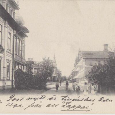 Lycksele Foto: I. A. Harnesk Poststämplat 4/1 1906 Ägare: Åke Runnman 9x14