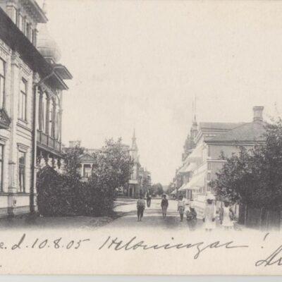 Lycksele Foto: I. A. Harnesk Poststämplat 10/8 1905 Ägare: Åke Runnman 9x14
