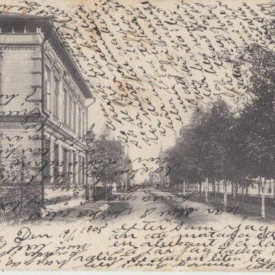 Lycksele Foto: I. A. Harnesk Poststämplat 22/11 1905 Ägare: Åke Runnman 9x14