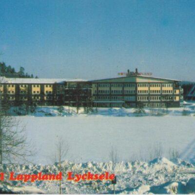 Hotell Lappland i Lycksele Copyright: Grönlunds Foto, Skansholm, Vilhelmina Ocirkulerat Ägare: Åke Runnman 10x15