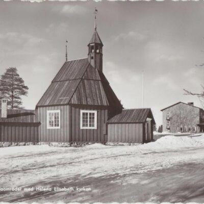 UMEÅ. Gamliaområdet med Helena Elisabeth kyrkan Pressbyrån 22515 Ocirkulerat Ägare: Ivar Söderlind 10x15