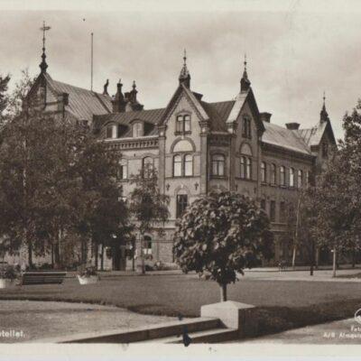 Umeå. Stora Hotellet Förlag: Hedströms Bokhandel, Umeå Poststämplat 1947-10-7 Ägare: Ivar Söderlind 9x14