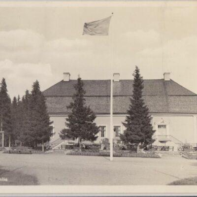 Umeå. Gammlia A.-B. Alga, Stockholm 60136 Poststämplat 1942-04-26 Ägare: Ivar Söderlind 9x14