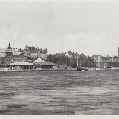 Parti av Umeå Poststämplat 1950-07-06 Ägare: Ivar Söderlind 9x14