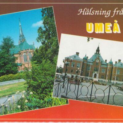 Hälsning från Umeå Ultraförlaget AB, Solna Poststämpel oläslig Ägare: Ivar Söderlind 10x15