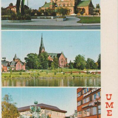UMEÅ Hallens reklamtryck Poststämplat 1990-06-27 Ägare: Ivar Söderlind 10x15