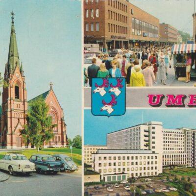 UMEÅ Färgfoto: Giovanni Trimboli Poststämplat 1972-05-30 Ägare: Ivar Söderlind 10x15