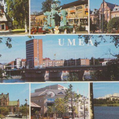 UMEÅ Hallens reklamtryck Poststämplat 1992-06-22 Ägare: Ivar Söderlind 10x15