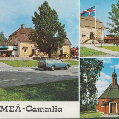 UMEÅ - Gammlia Hallens Reklamtryck Ocirkulerat Ägare: Ivar Söderlind 10x15