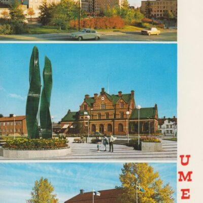 UMEÅ Hallens foto Poststämplat 1975-05-15 Ägare: Ivar Söderlind 10x15
