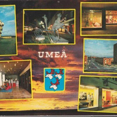 UMEÅ Hallens foto Poststämplat 1973-07-02 Ägare: Ivar Söderlind 10x15