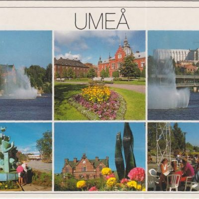 UMEÅ Förlag: K. Rune Lundström AB, Skellefteå Poststämplat 1990-07-03 Ägare: Ivar Söderlind 10x15