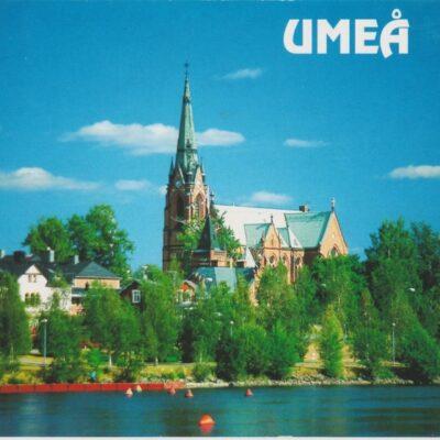 UMEÅ Göran Bränning Gallery AB Poststämplat 1999-03-17 Ägare: Åke Runnman 10x15