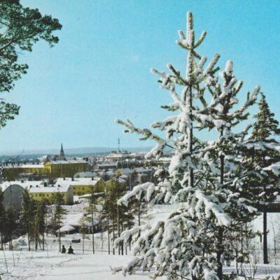 UMEÅ - utsikt från Gammlia E. E. E. A/B Poststämplat 1969-03-11 Ägare: Åke Runnman 10x15