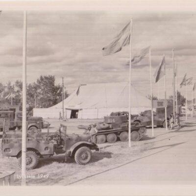 Lycksele 1949 Ensamrätt: Utställningsfoto Ab. Gbg Ocirkulerat Ägare: Ivar Söderlind 9x14