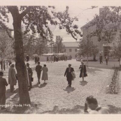 Utställningen i Lycksele 1949 Ensamrätt: Utställningsfoto Ab. Gbg Ocirkulerat Ägare: Ivar Söderlind 9x14