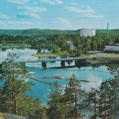 Umeälven vid Lycksele, södra Lappland. Sweden Copyright: Grönlunds Foto, Skansholm Ocirkulerat Ägare: Åke Runnman 10x15