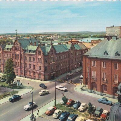 Stora Hotellet. Umeå AB GRAFISK KONSTOcirkuleratÄgare: Åke Runnman10x15