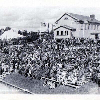 Utställningen i Lycksele 1949 Ensamrätt: Utställningsfoto AB., Gbg. Ocirkulerat Ägare: Åke Runnman 10x15