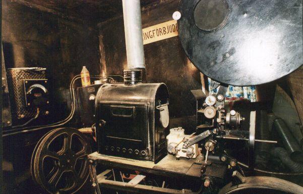 Bilder från projektorrummet