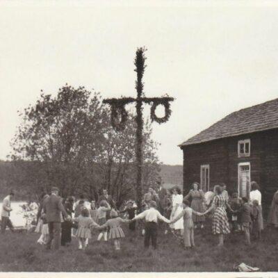 Midsommar 1951 Foto: Gunnar Egervall