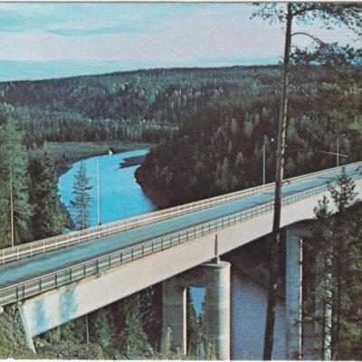 Öreälvsbron. Bjurholm Foto: Anna Britta Forsberg Ocirkulerat Ägare: Åke Runnman 10x15 Snarlika bilder men med viss förskjutning