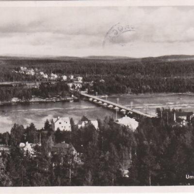 Umeå älv, Lycksele Förlag: Bodéns Bokhandel K/B, Lycksele Poststämpel oläslig Ägare: Åke Runnman 9x14