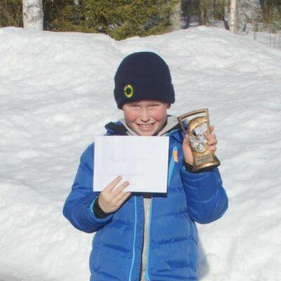 Casper Rimmevik segrade i ungdomsklassen